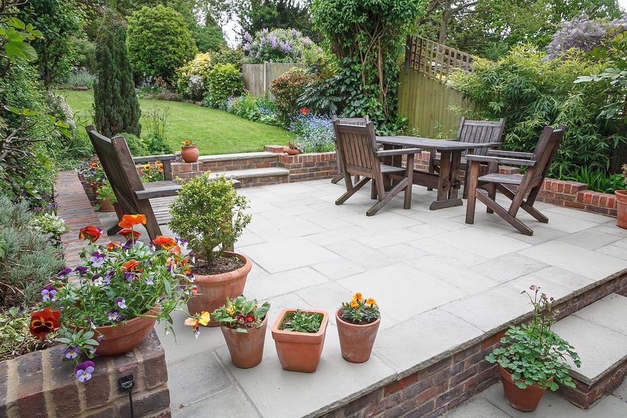 concrete floor for outdoor patio